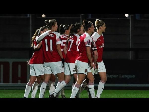 Arsenal vs Bristol City - Match highlights - FA WSL ( (14th March 2019)