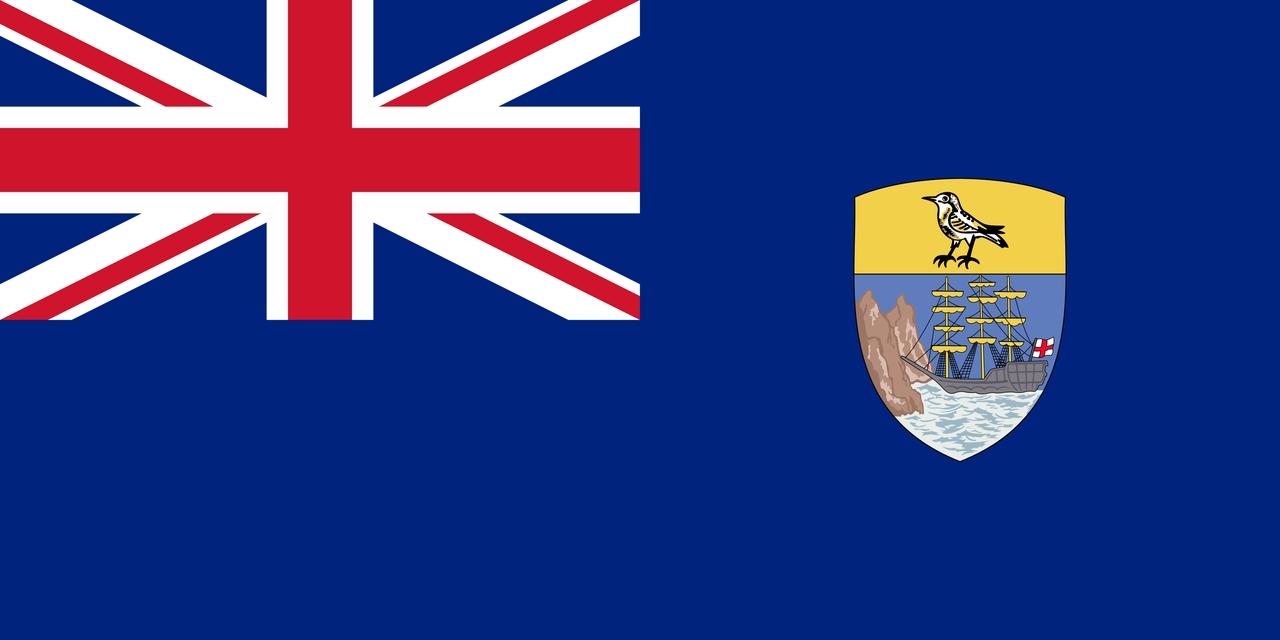 Флаг Острова Святой Елены