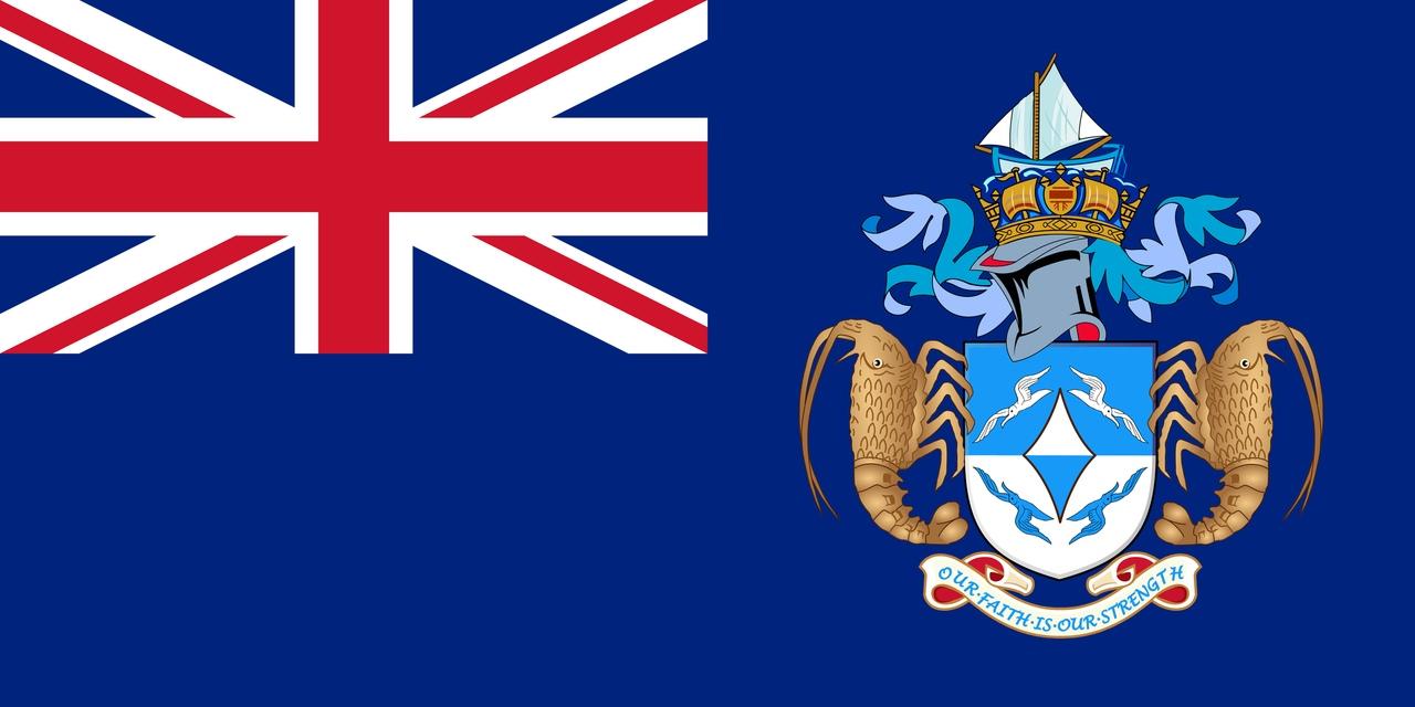 Флаг Островов Тристан-да-Кунья
