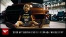 Mitsubishi Evo X Daddy's Little Girl Ferrada Wheels FR7
