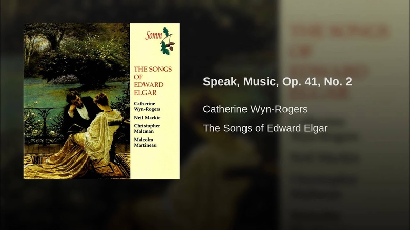 Speak, Music, Op. 41, No. 2