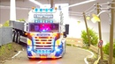 AMAZING RC TRUCK ACTION RC DIGGER SCANIA LIEBHERR INTERMODELLBAU RC CONSTRUCTION-SITE