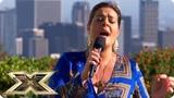 Louise Setara breaks down in heart-rending performance Judges' Houses The X Factor UK 2018