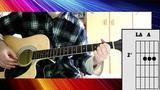 Queen - Under Pressure - Guitar Cover WChords
