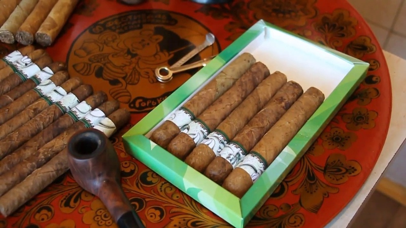 2019 новогодние сигары из своего табака