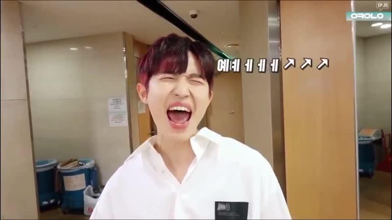 Okay wanna one ep.35 – jaehwan's cut
