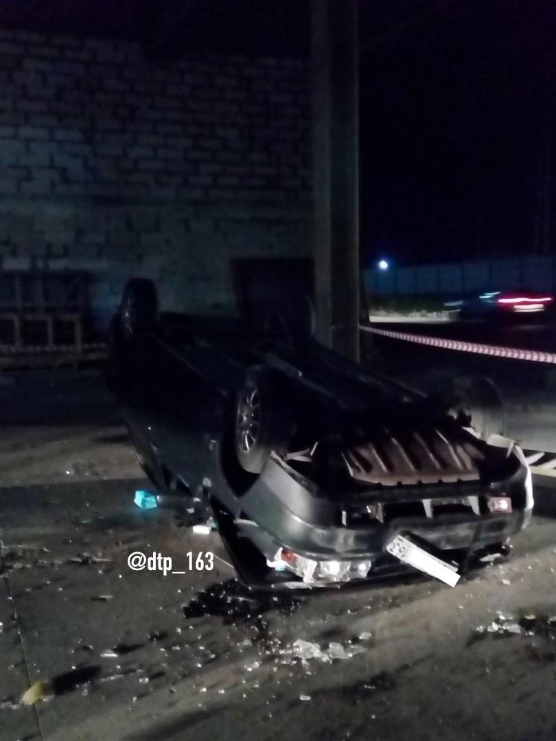Водитель упавшего с многоуровневой парковки ТЦ автомобиля в Самаре был под