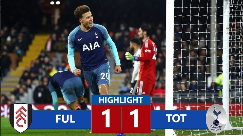 Fulham vs Tottenham 1 1 Highlights All Goals 20 01 2019