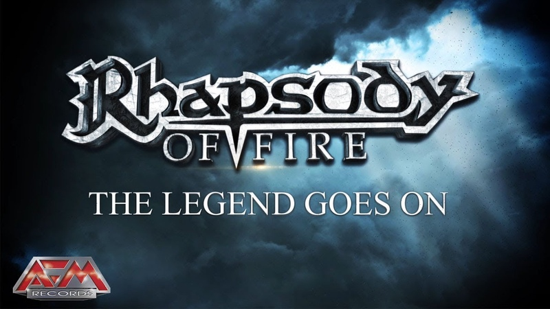 RHAPSODY OF FIRE - The Legend Goes On (2018) Official Lyric Video AFM Records