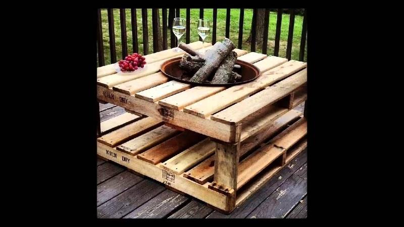 200 ideas de reciclaje con pallets para decorar casa y jardín!!