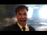 Крис Хемсворт на съёмках спин-оффа Людей в Чёрном