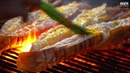 Thailand Street Food Lobster Giant Tiger Prawns BBQ