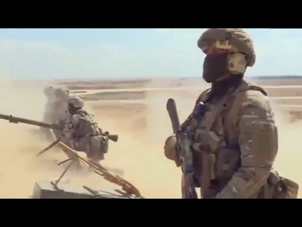 Ru SOF in battle for Palmyra Clear foot