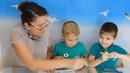 Изучаем алфавит, буквы Х и Ц , развивающие мультики для детей