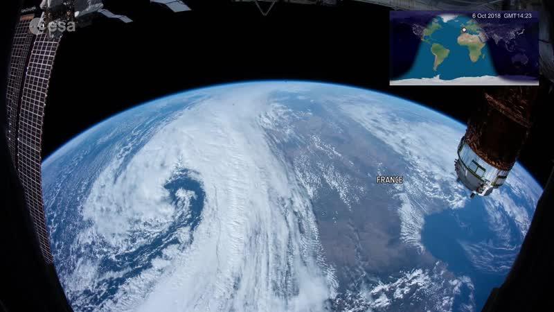 Космическая станция Самое длинное видео из космоса Space Station 20th longest continuous timelapse from space (2018)