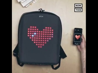 Nowthis future - backpack doubles as retro game console