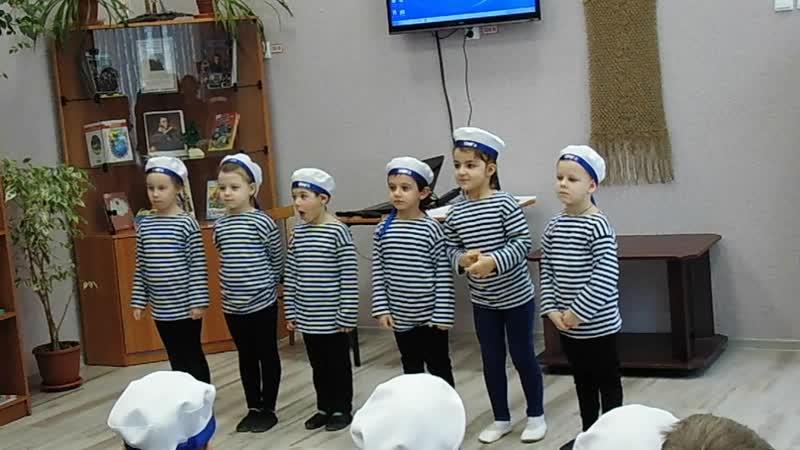 Дети 19го детского сада поздравляют с Днем Защитника Отчества