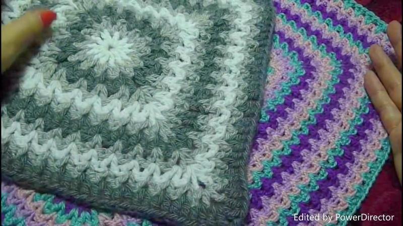🌸Коврик салфетка квадратный крючком Красиво и просто Crochet