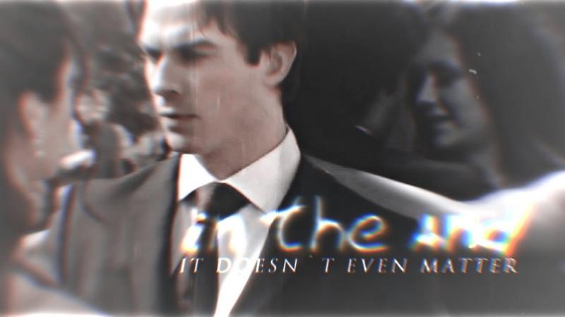 Damon Elena [in the end]