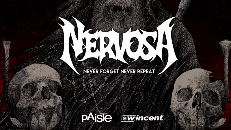 NERVOSA - Never Forget, Never Repeat (Drum Playthrough)