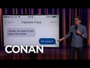 James Veitch Is A Terrible Roommate - CONAN on TBS