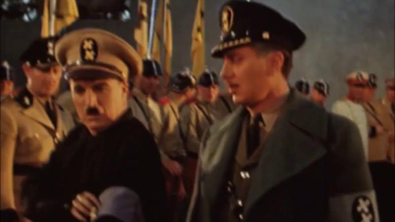 Rodaje de El gran dictador ¡En color! (filmingThe Great dictator)