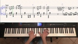 Sam Smith - Writing's on the Wall (piano tutorial &amp sheet)