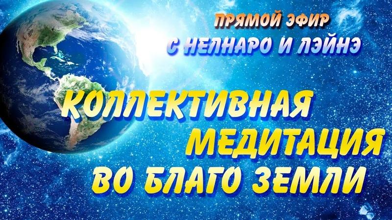 Объявление о Коллективной Медитации сегодня 1 декабря в 22:00 в прямом эфире