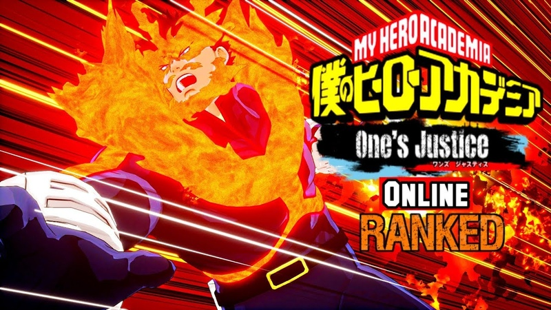All Might vs Endeavor DLC My Hero Academia One's Justice Online Ranked 5 1080p60fps