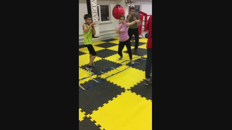 Клуб бокса Спарта Нижнекамск - группа Boxing Junior