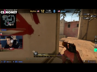 [Gouldy ☆ CS:GO Channel ☆] SHROUD ONE TAPS FLUSHA! S1MPLE REACTS TO GETTING GLOBAL! SCREAM EU RAGE! - CS:GO TWITCH CLIPS #342