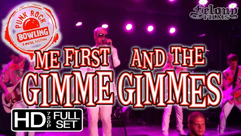 ME FIRST AND THE GIMME GIMMES PRB'13 full set