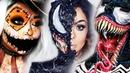 TOP 15 DIY Halloween Makeup IDEAS VENOM DIY Costume 2018