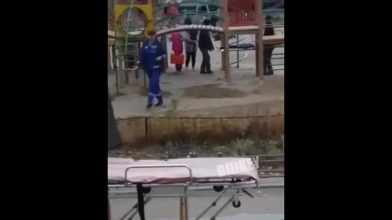 Ребенок получил травму на детской площадке в Якутске 22 09 2018