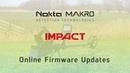 Обновление прошивки на Nokta Impact