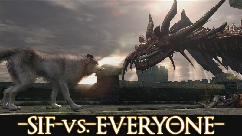 Dark Souls walkthrough SIF vs EVERYONE Part 2