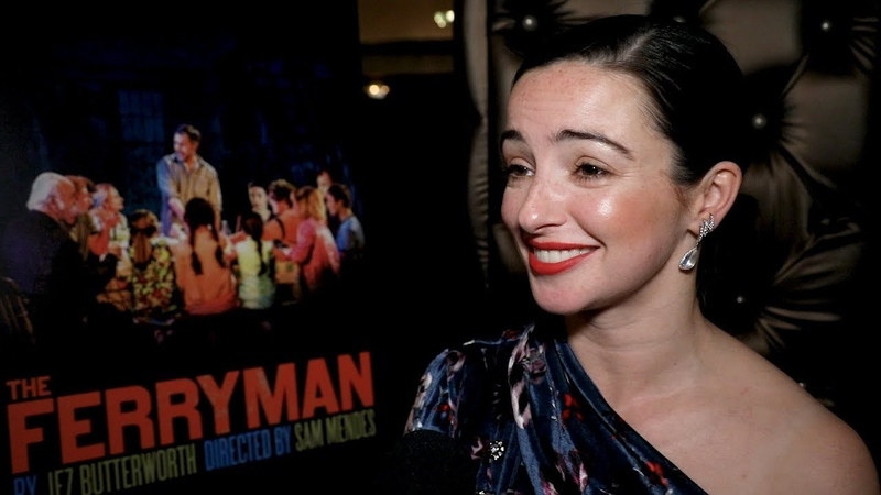 Laura Donnelly and the Cast of THE FERRYMAN Celebrate Opening Night on Broadway