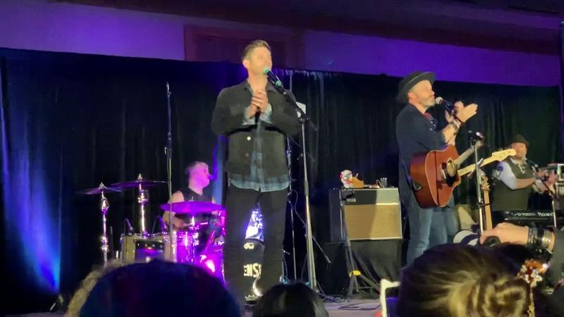 Jensen Ackles SPNVan 2018 Son of a Bitch