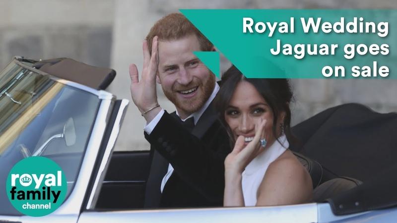 Prince Harry and Meghans Royal Wedding Jaguar goes on sale
