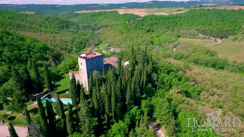 Castle of Chianti, Tuscany, Siena