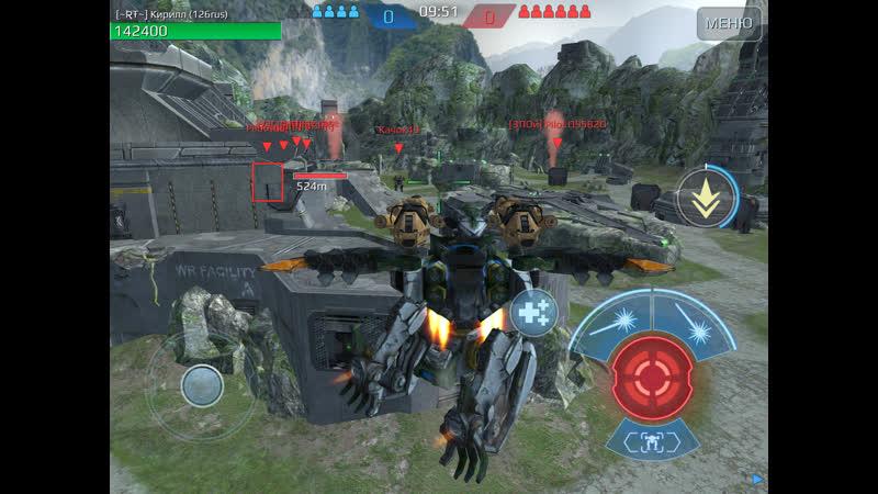 War Robots 20 07 2019 Супер игра несколько боев Качество видео минимум