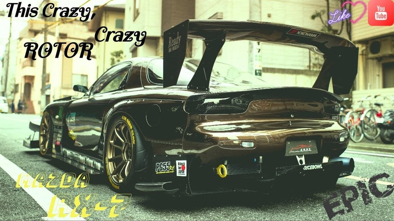 Need for Speed Most Wanted Этот Безумный Безумный РОТОР Mazda Rx7