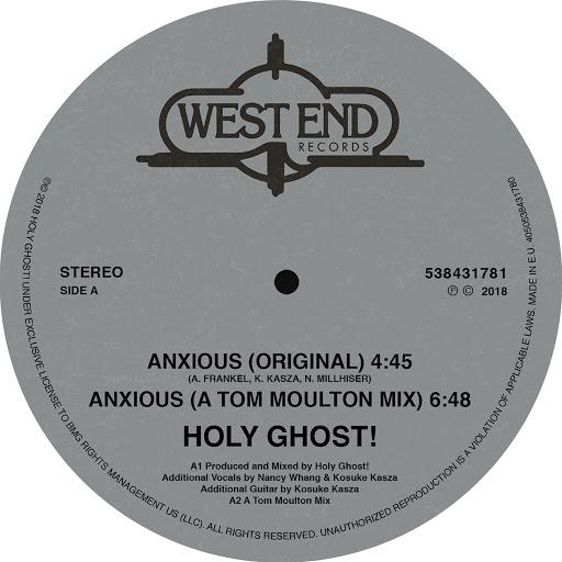 Holy Ghost! альбом Anxious