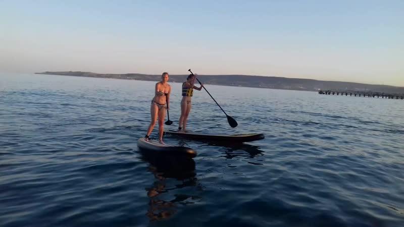 а ты ☝катался на каяках ? !! 😆 пляж Немо в Феодоссии