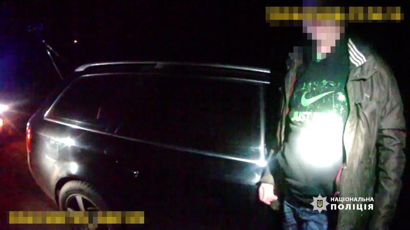 У Черкасах поліція затримала озброєних зловмисників, яких розшукували за напад на патрульних