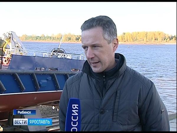 На судостроительном заводе «Вымпел» спущен на воду модернизированный сторожевой корабль «Ламантин»