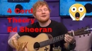 Ed Sheeran Proves The 'Four Chord Theory'