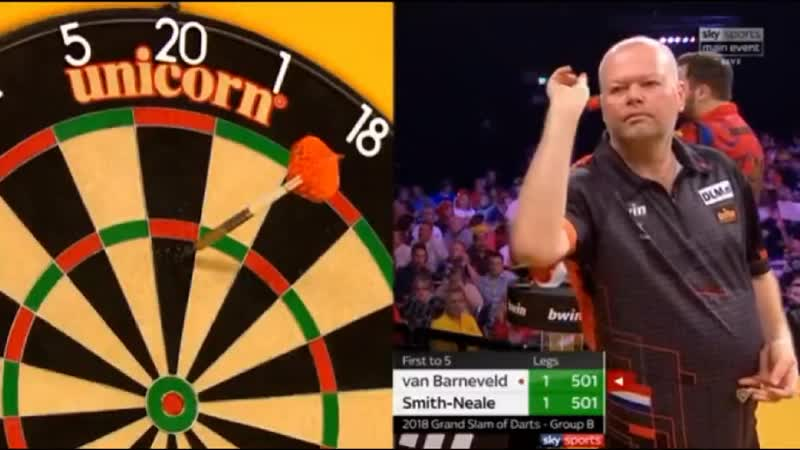 2018 World Grand Slam of Darts Group B van Barneveld vs Smith-Neale