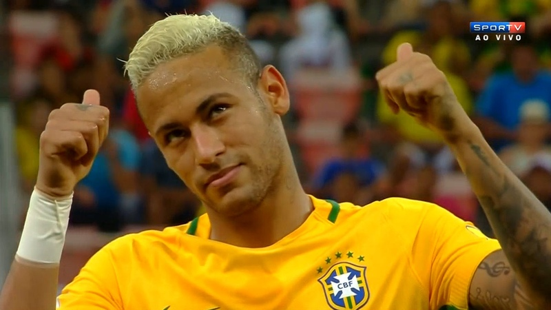 Neymar vs Colombia Home HD 720p (06/09/2016) by MNcomps