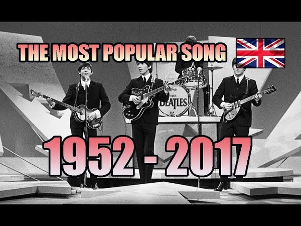 The Most Popular Song of Each Year (UK Edition) [1952-2017]
